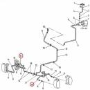 Przewód hamulcowy 313-05-0010